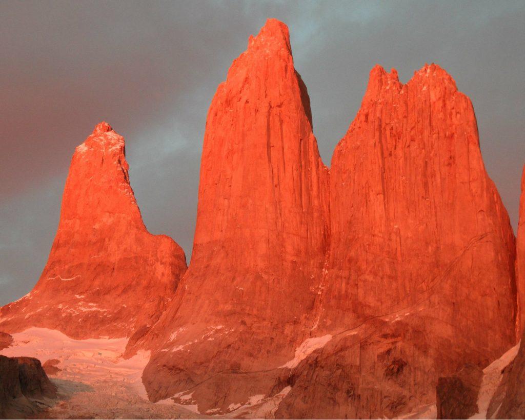 Torres del Paine in Chili.