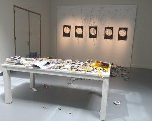 Stuk uit de tentoonstelling Het Zalig Nietsdoen.