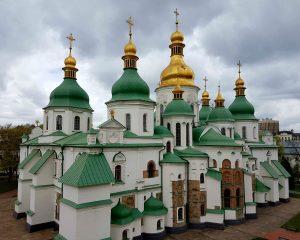 Sint-Sofiakathedraal in Kiev.