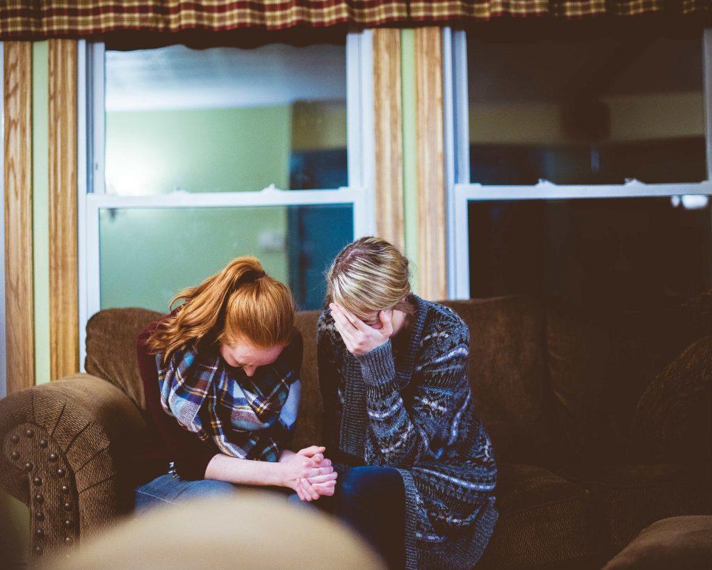 verdriet na een verbroken relatie