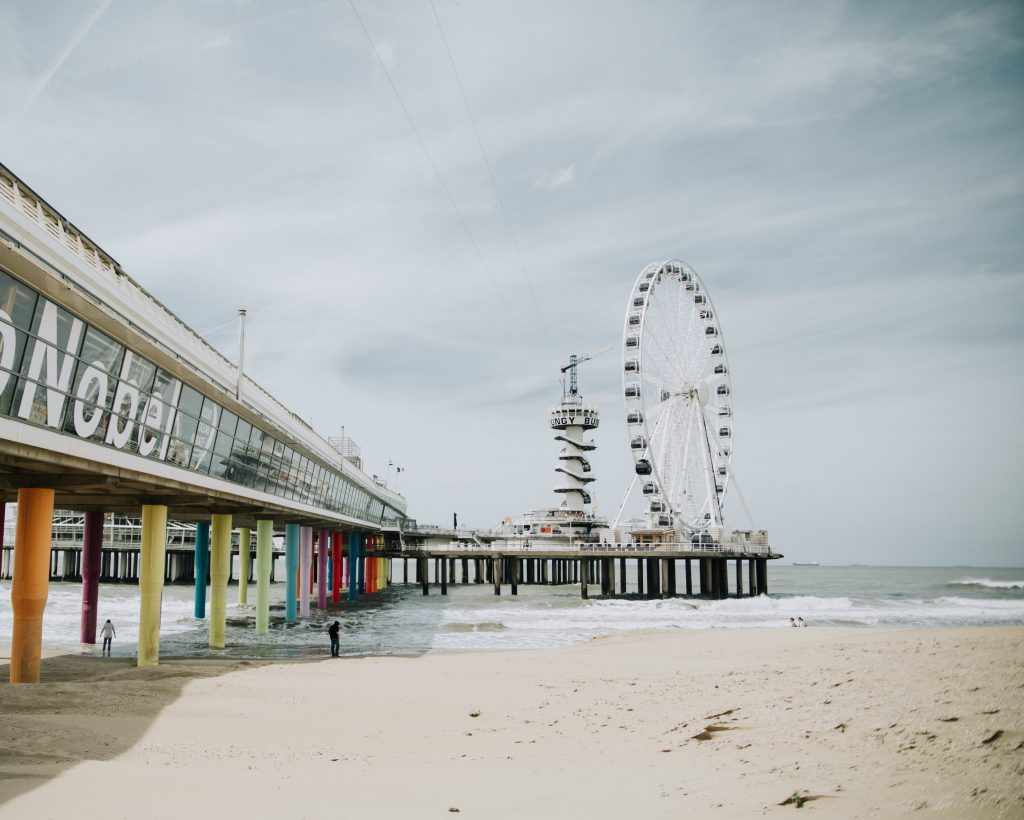 Reuzenrad pier van scheveningen Hotspots in Den Haag