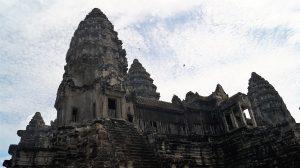 Het tempelcomplex Angkor Wat.